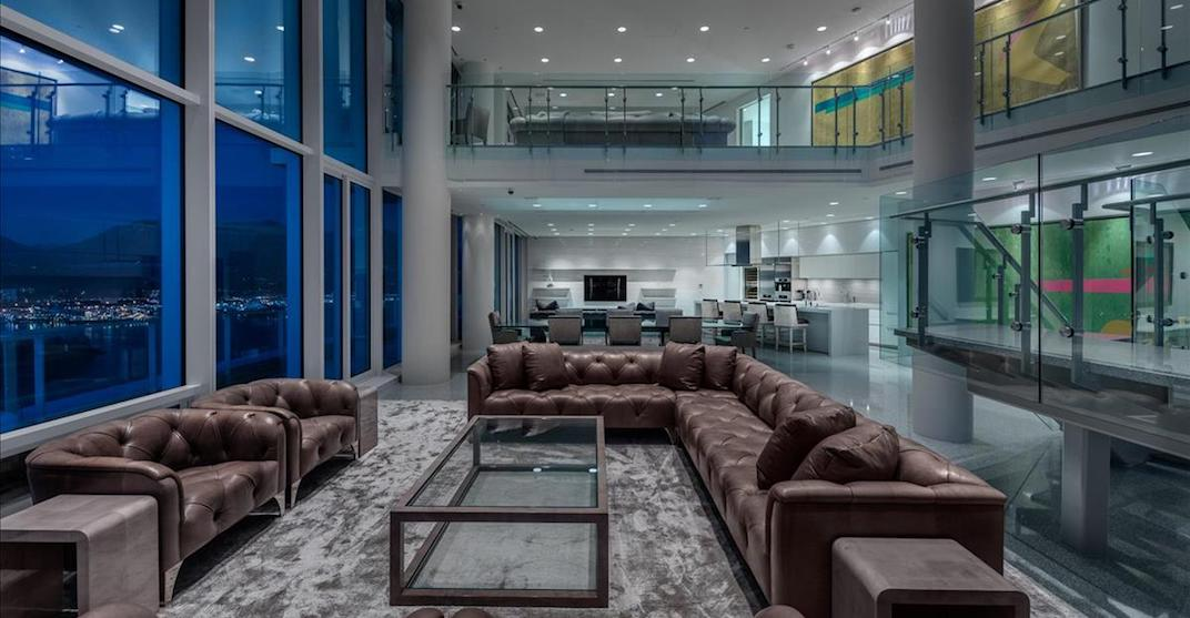 Edmonton Oilers owner puts Vancouver penthouse on market for $38 million (PHOTOS)
