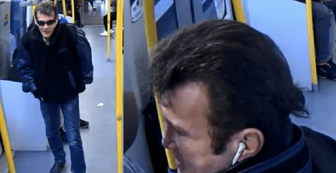 Police seeking suspect who allegedly threatened SkyTrain passenger with scissors