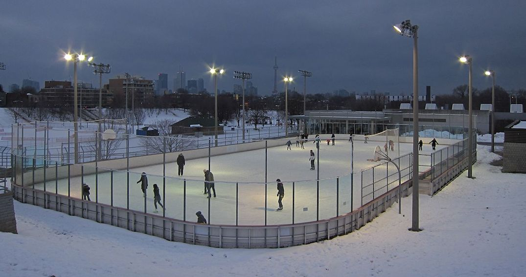 The Christie Pits ice rink is officially being renamed this weekend