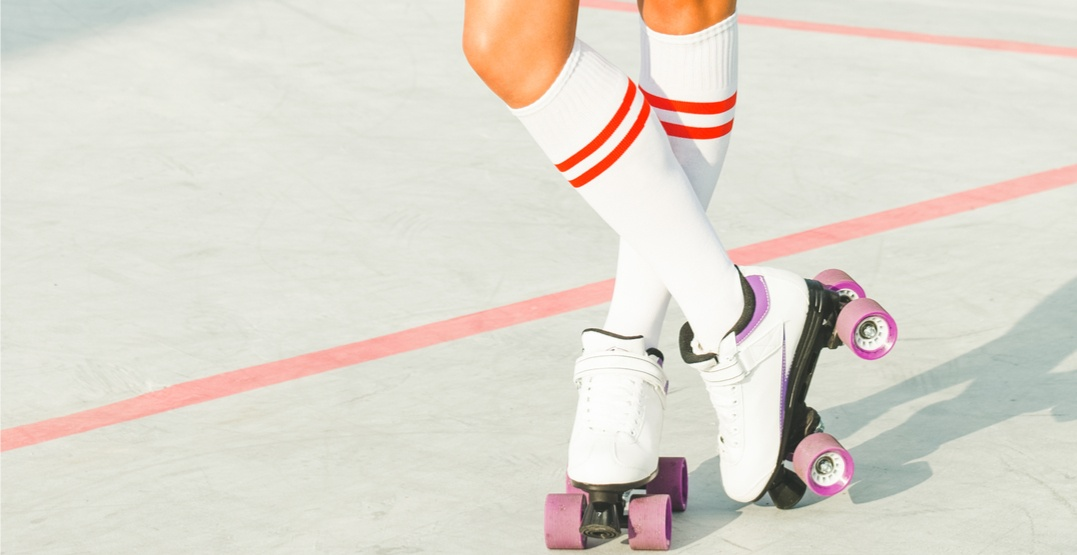 There's an amazing pop-up roller disco happening in Vancouver this weekend