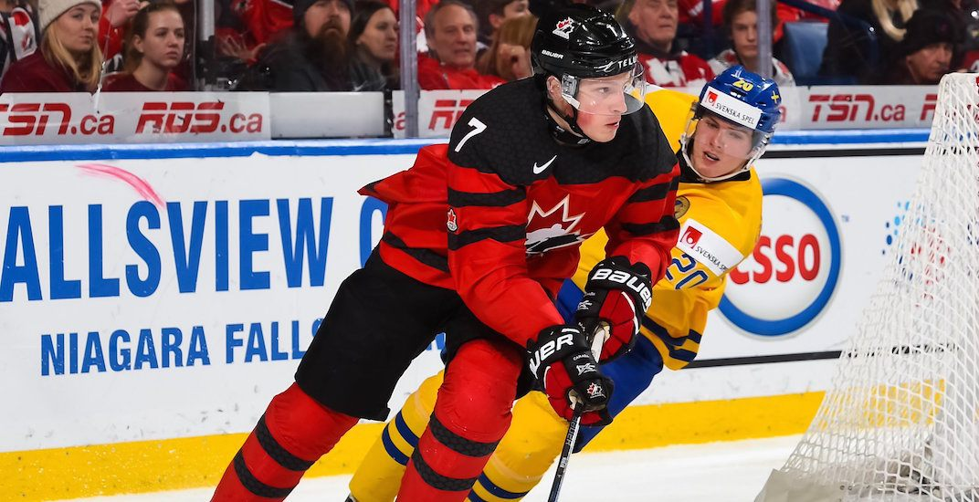 Report: Teenager snubs Canadian Olympic hockey team