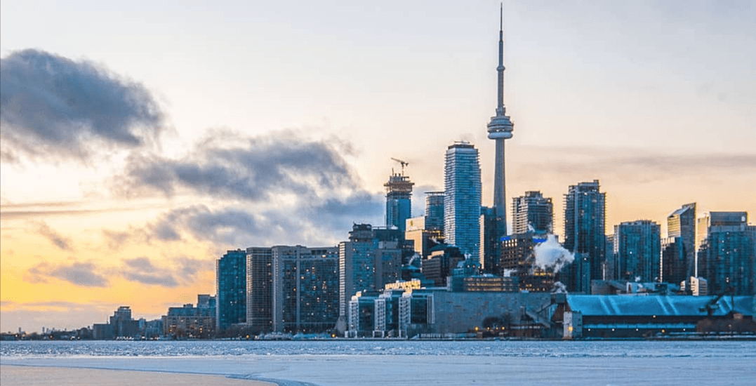Today is already Toronto's coldest November 22 in recorded history