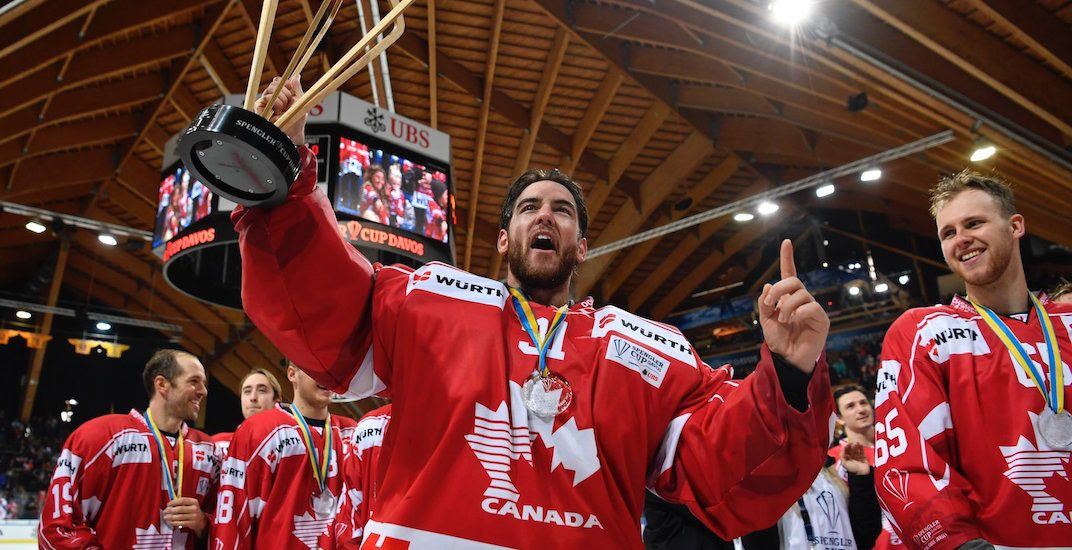 Canada spengler cup champions