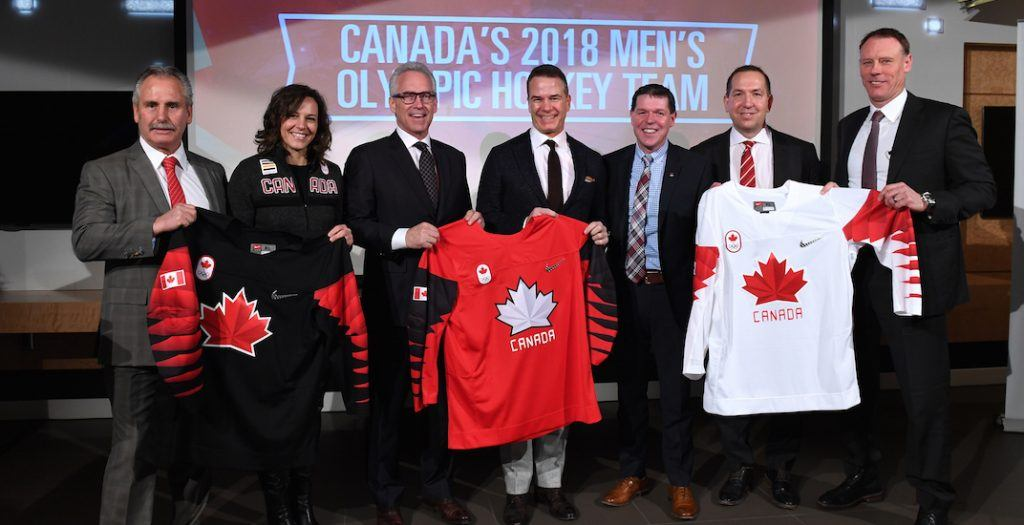 olympic hockey canada 2018