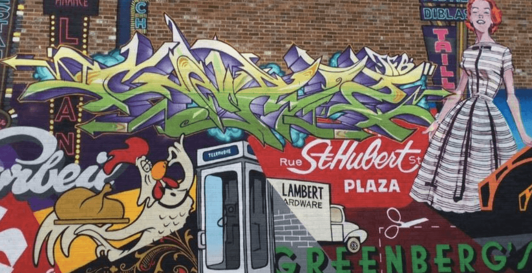 Spotted on Reddit: This map shows you where you can find Montreal's murals