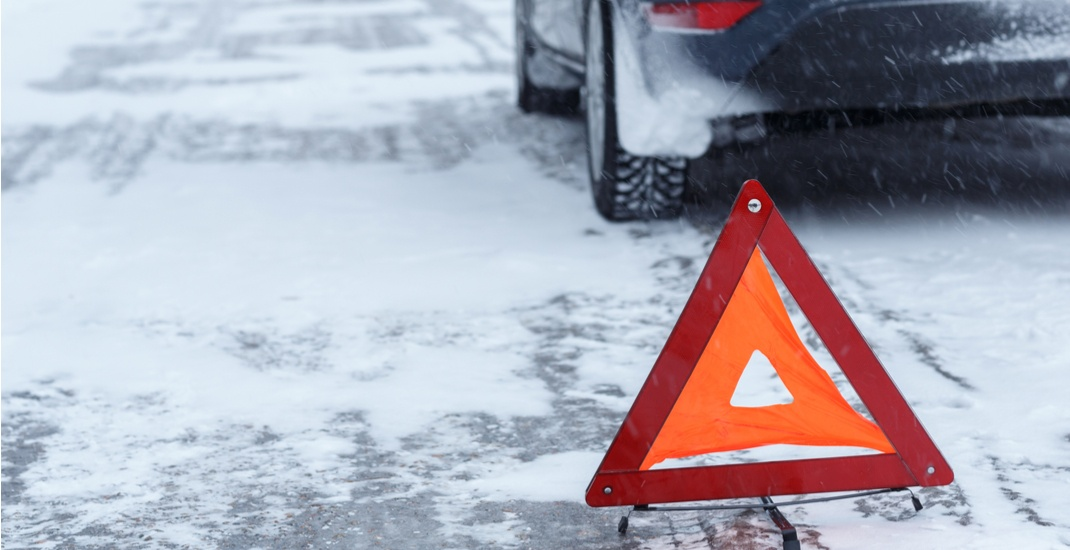 There were 75 car accidents in just 4 hours this morning in Edmonton