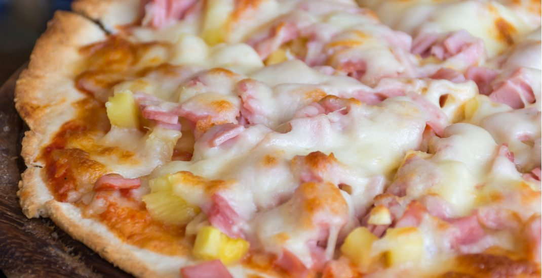 There's a $1 Hawaiian pizza slice party happening in Montreal this month