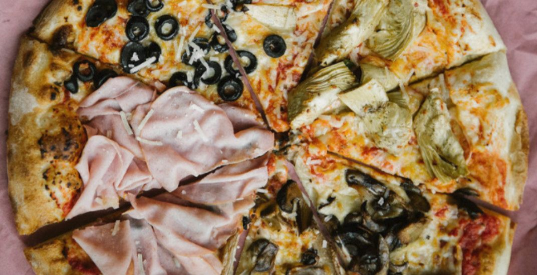 Pizza slicesaces pizza shop