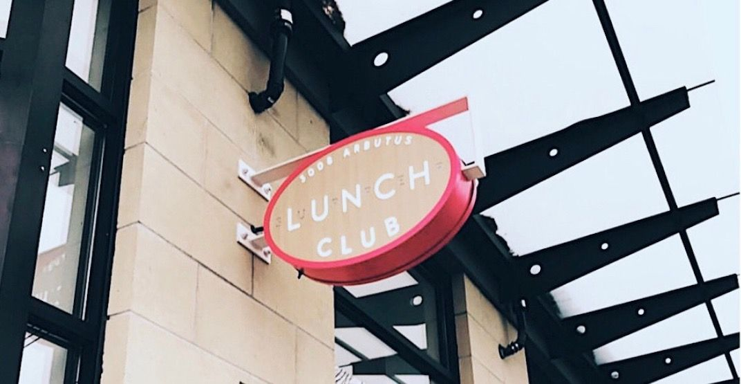 New spot 'Lunch Club' has a menu worth drooling over
