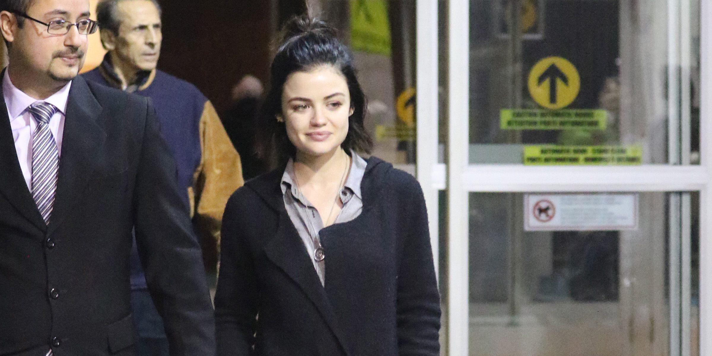 Spotted: Lucy Hale arrives in Vancouver to film 'Life Sentence' (PHOTOS)