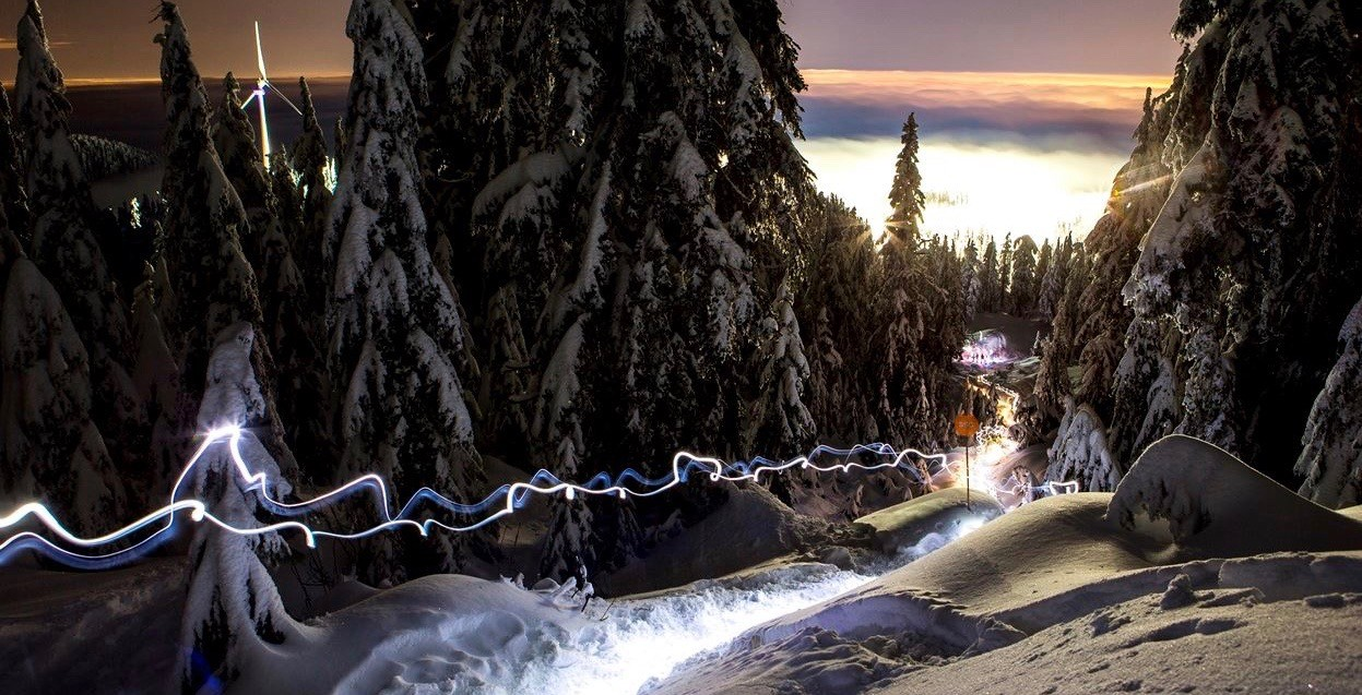 There's a new moon snowshoeing tour on Grouse Mountain next week