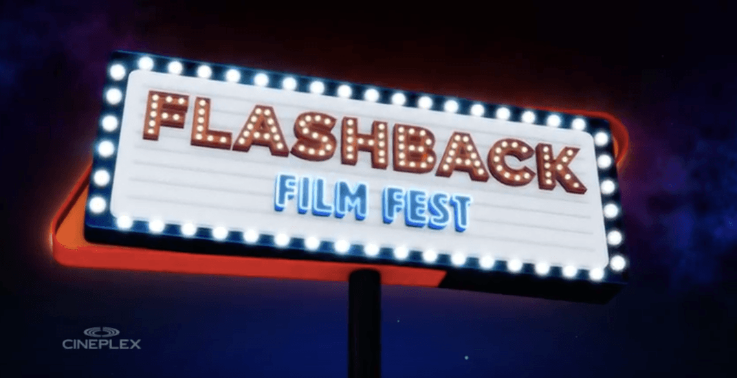 Check out cult-classics on the big screen at the Flashback Film Festival