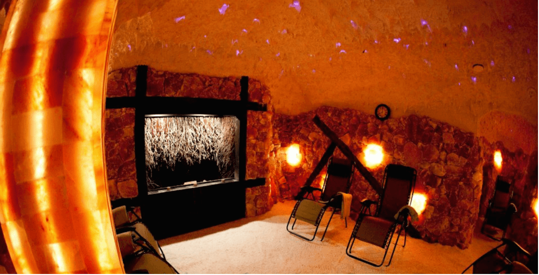 You can unwind in a Himalayan salt cave near in Toronto this winter
