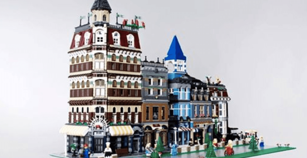 A huge LEGO city exhibition is happening in Montreal next week