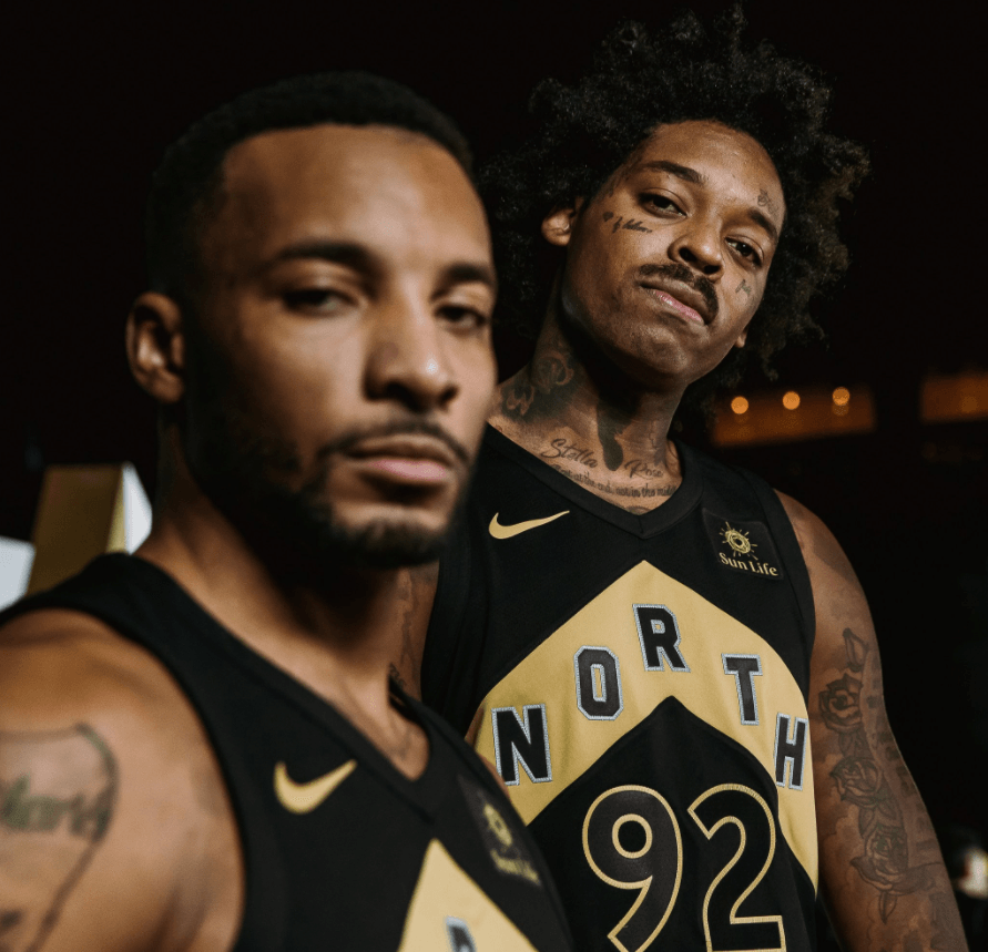 raptors north jerseys
