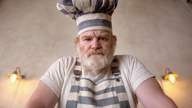"Brendan Gleeson as ""Knuckles"" in Paddington 2"