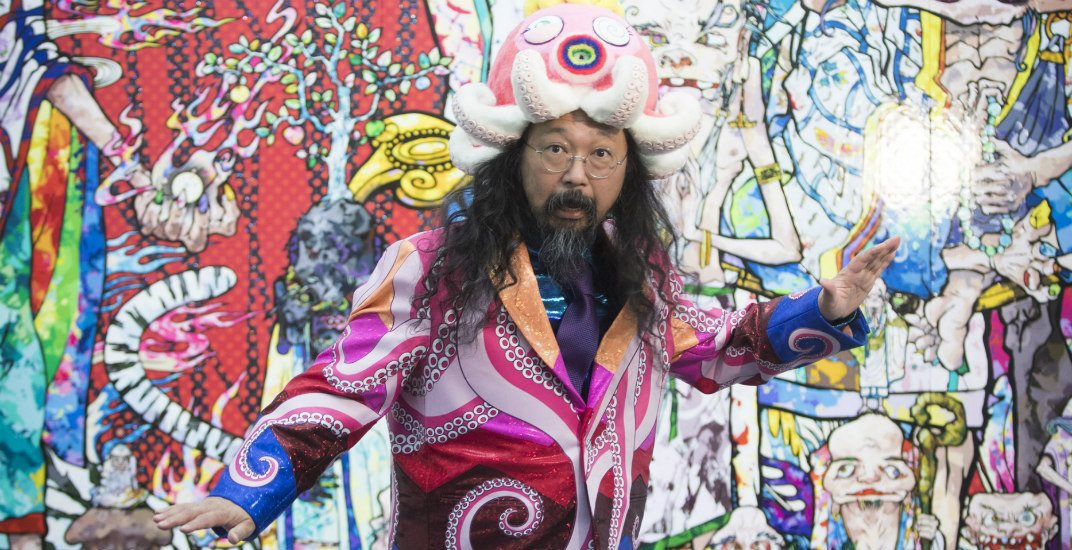 Win 2 tickets to Takashi Murakami's Birthday Bash After Party at the Vancouver Art Gallery