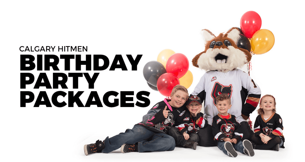 calgary hitmen birthday party packages