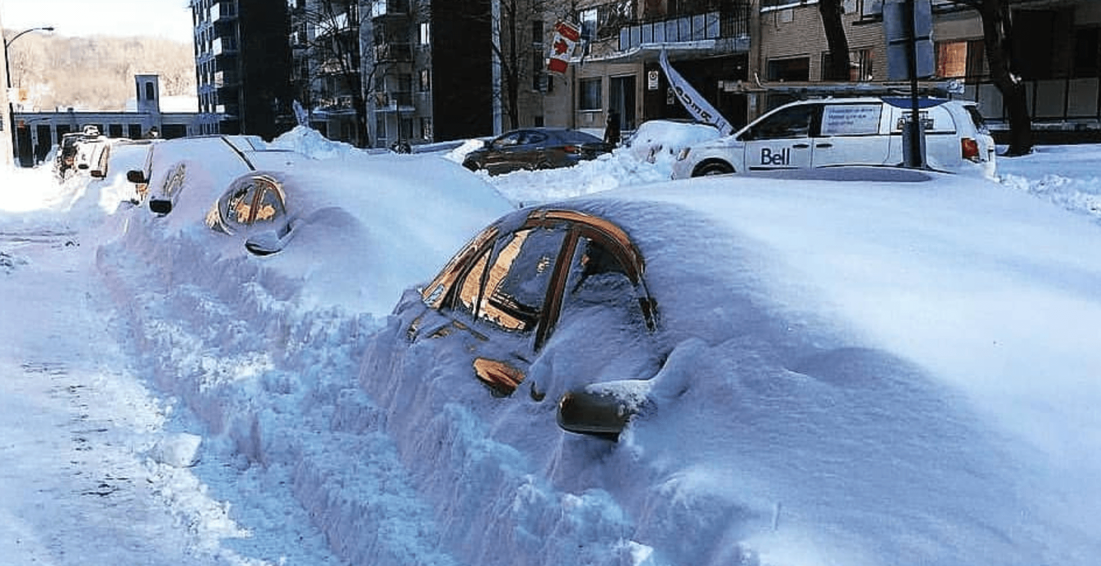 Montreal has received way more snow than usual this winter