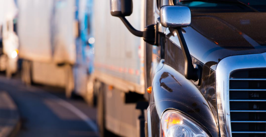 158 commercial vehicles pulled off the road during 3-day police inspection blitz