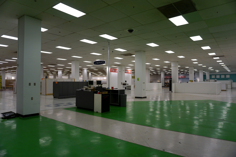 Empty Sears store