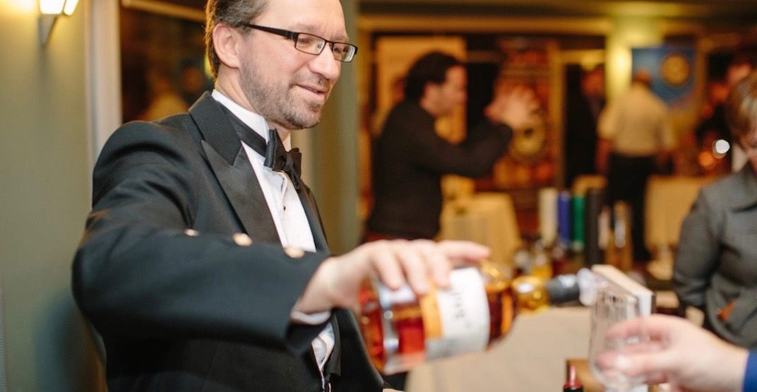 There's a huge whisky festival happening in Calgary this week