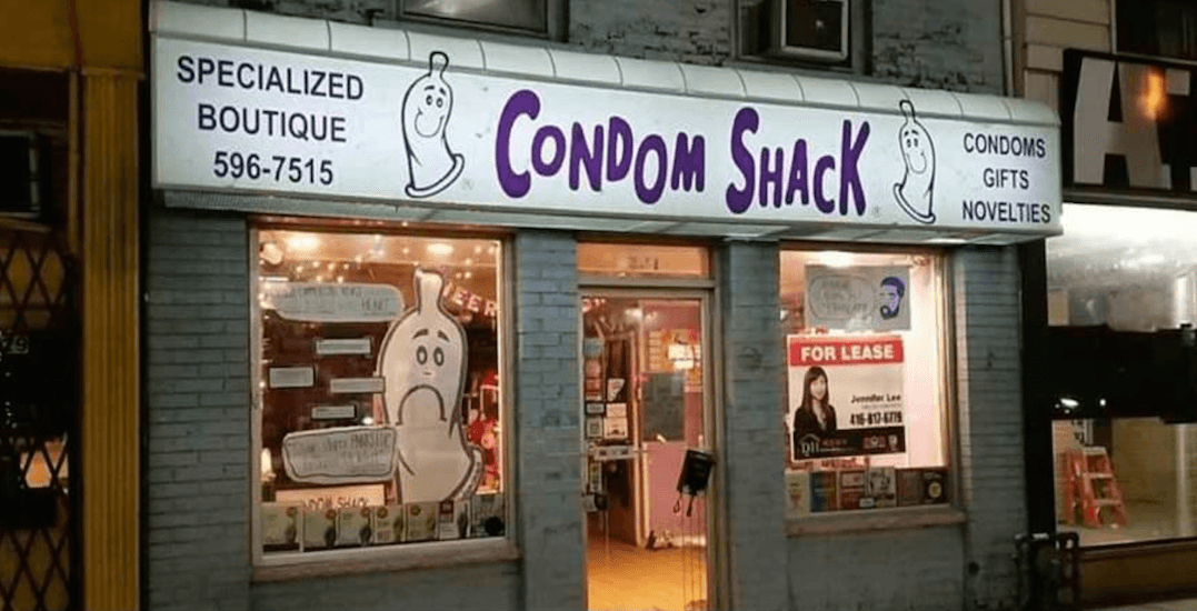 Toronto's iconic Condom Shack is closing its doors for good