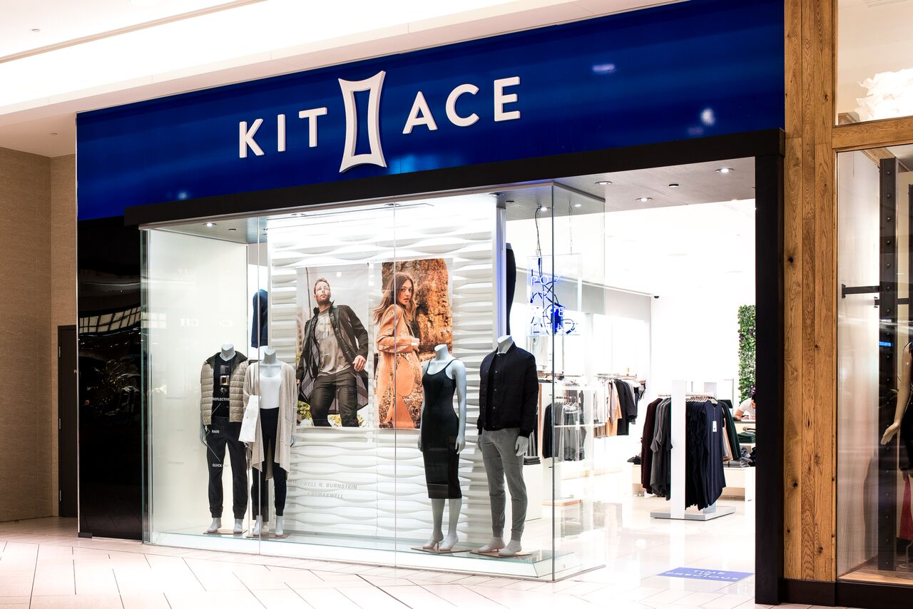 Kit and Ace Chinook Centre pop-up is closing with markdowns this week