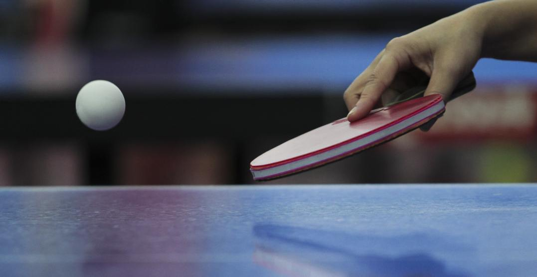 Calgary's Rec Room is hosting a doubles ping pong tournament