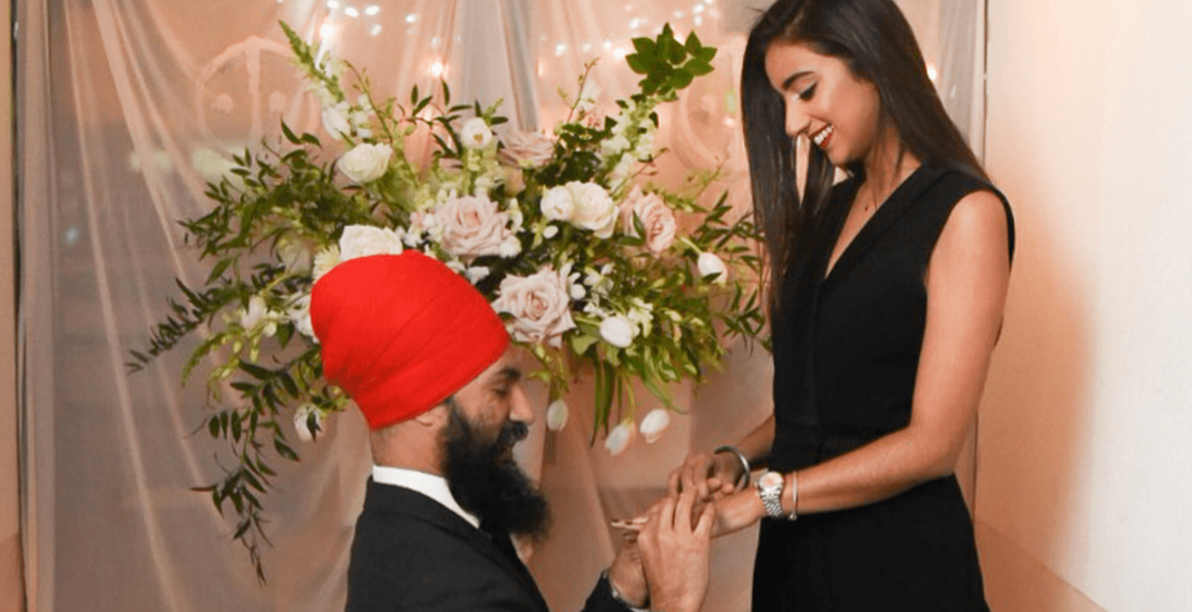 Ndp Leader Jagmeet Singh Officially Engaged To Designer Gurkiran Kaur Sidhu News