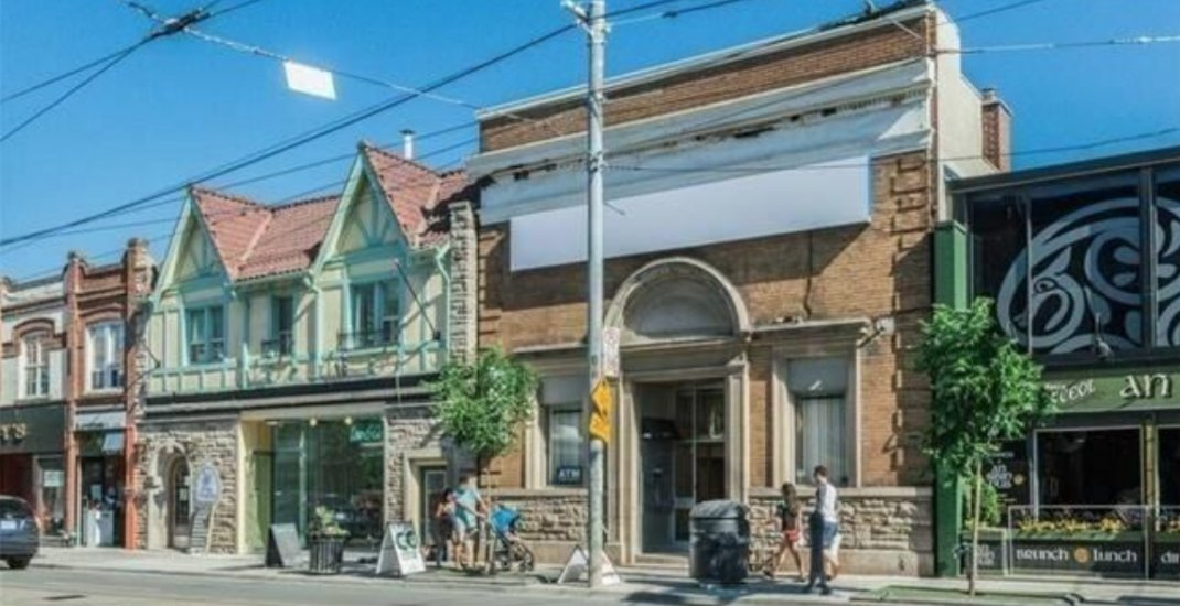 This Toronto building owner is soliciting ideas for Queen East address