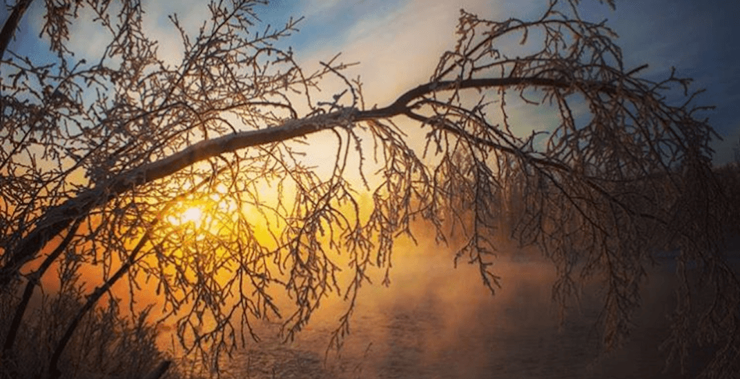 Stunning sunrise made for a magical morning in Calgary today (PHOTOS)