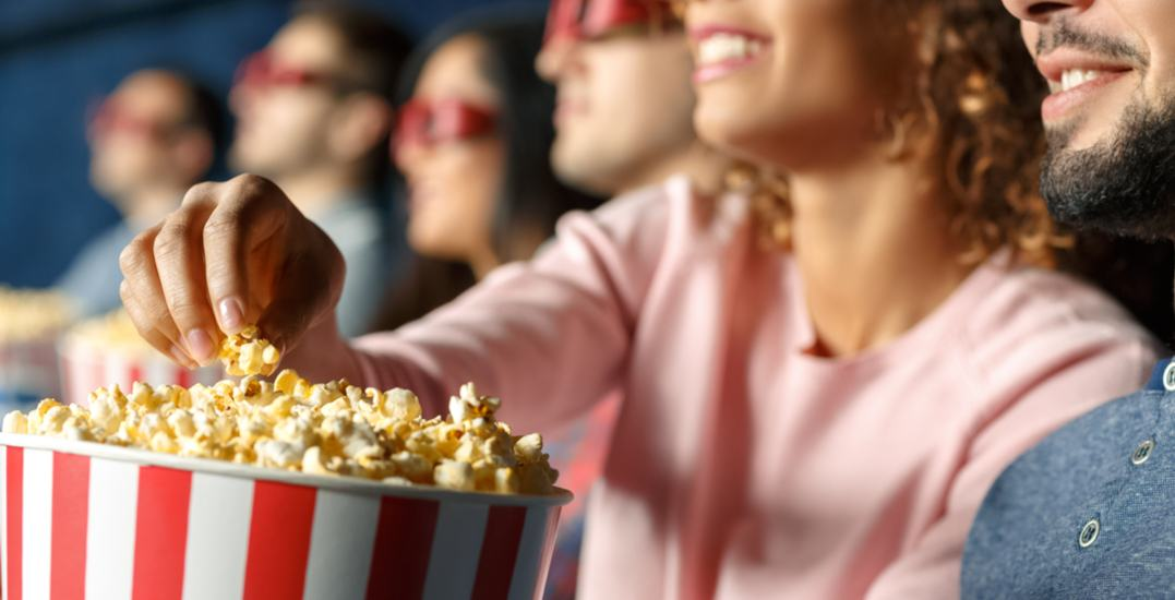 Cineplex is giving away FREE popcorn this Friday at all locations