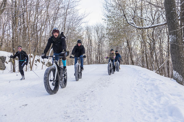 You can now go 'snow biking' in Montreal this winter