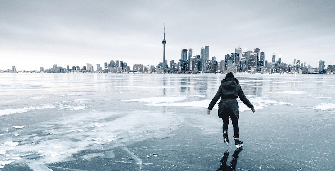 The New York Times features life on Toronto Island during winter