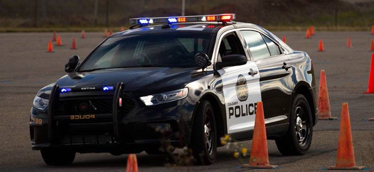 Calgary police cars will remain black and white, following review of colour scheme
