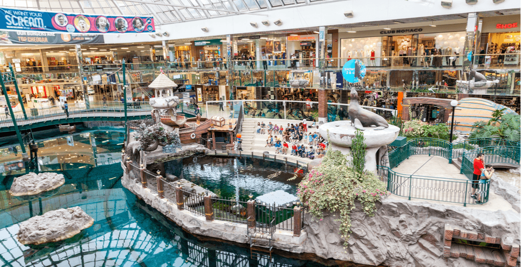 These are the 10 largest malls in Canada