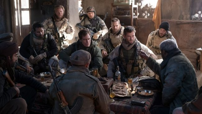 Scene from 12 Strong