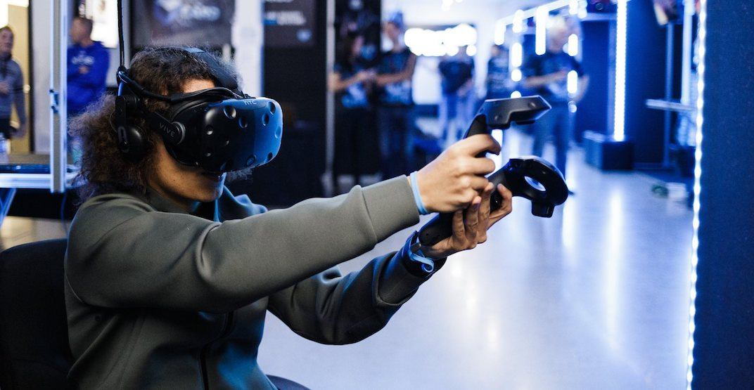 Calgary has a new virtual reality arcade in town