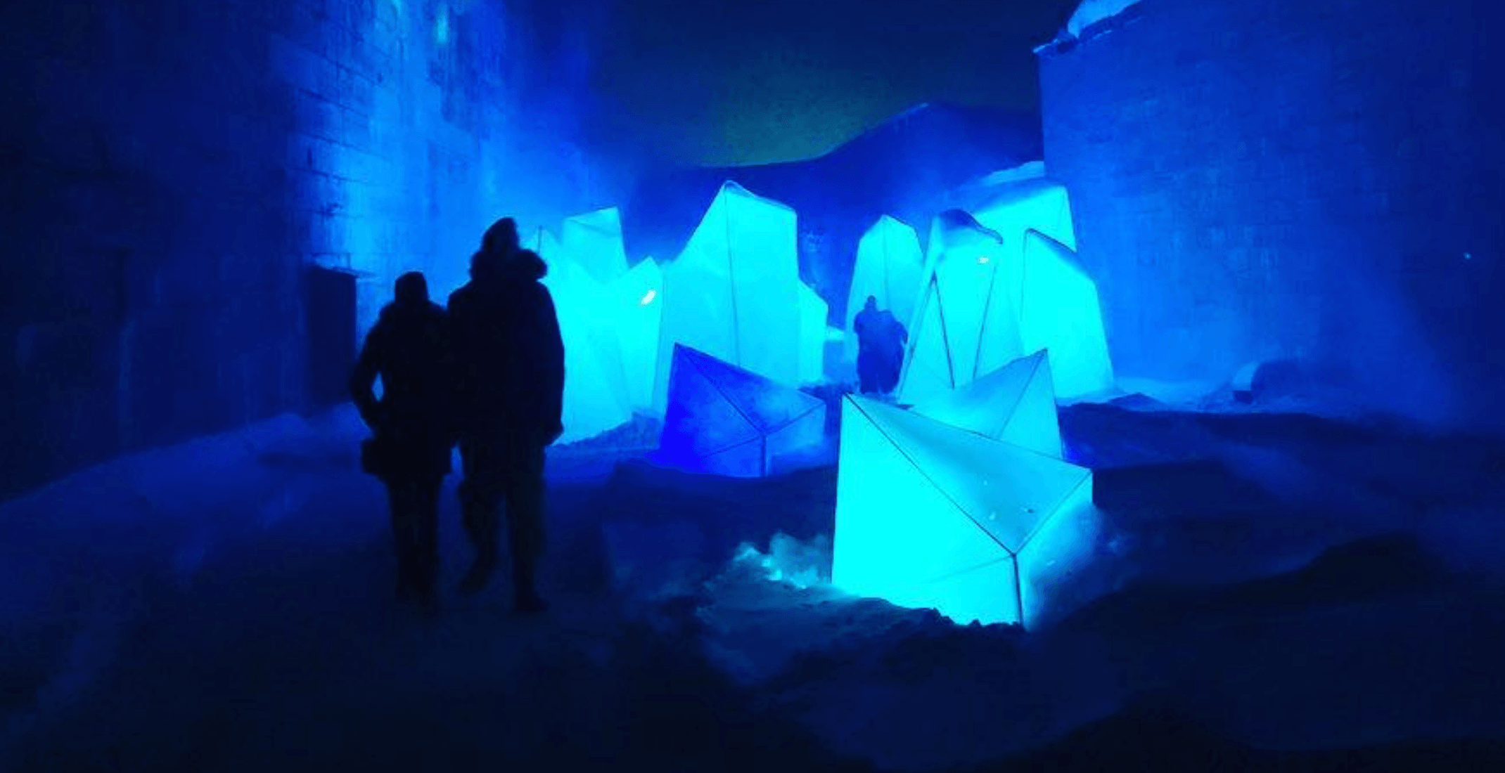 This incredible winter light festival is just 3 hours from Montreal (PHOTOS)
