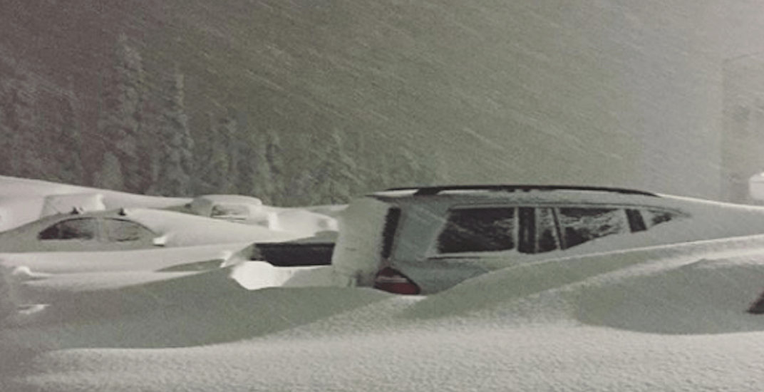 A Vancouver Island ski resort closed this weekend because of too much snow