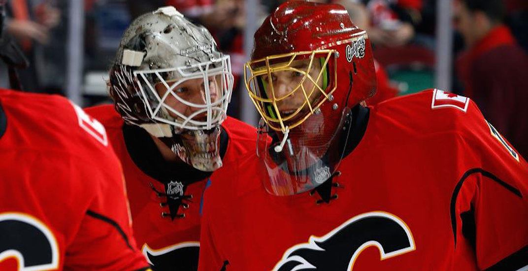 Flames goaltending duo from 2 years ago is going to the Olympics