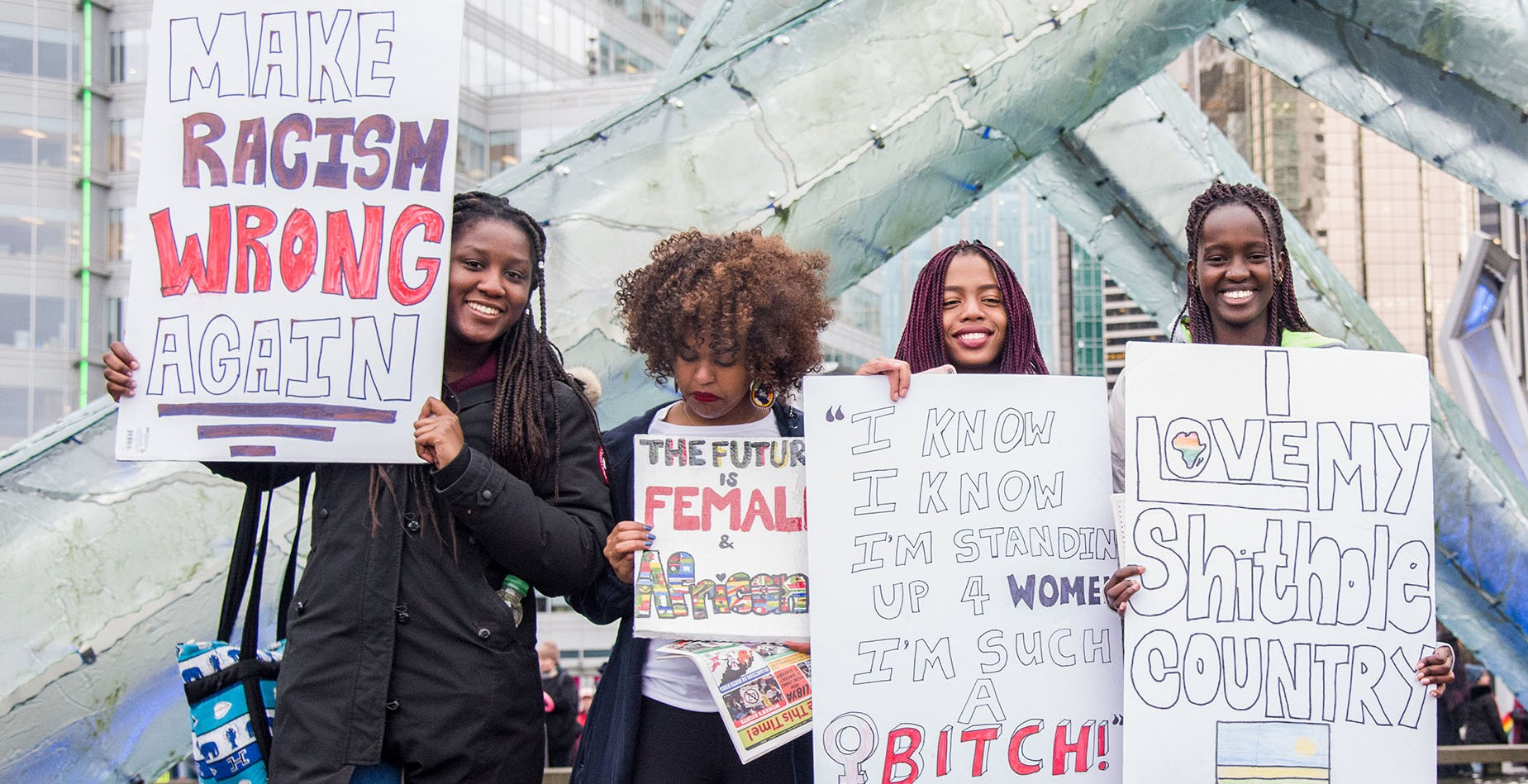 13 awesome signs from March On, Vancouver! 2018 (PHOTOS)