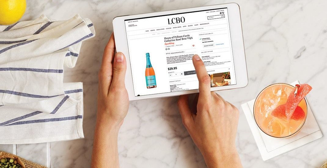 The LCBO now offering next day delivery for wines, beers, and spirits