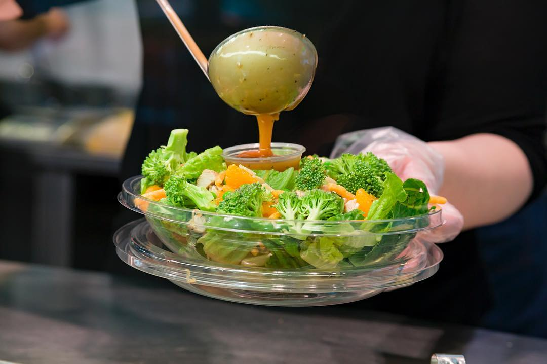 healthy toronto fast food salad
