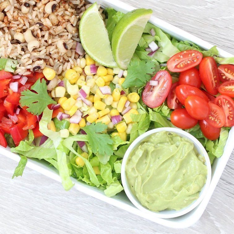 healthy grain bowl salad