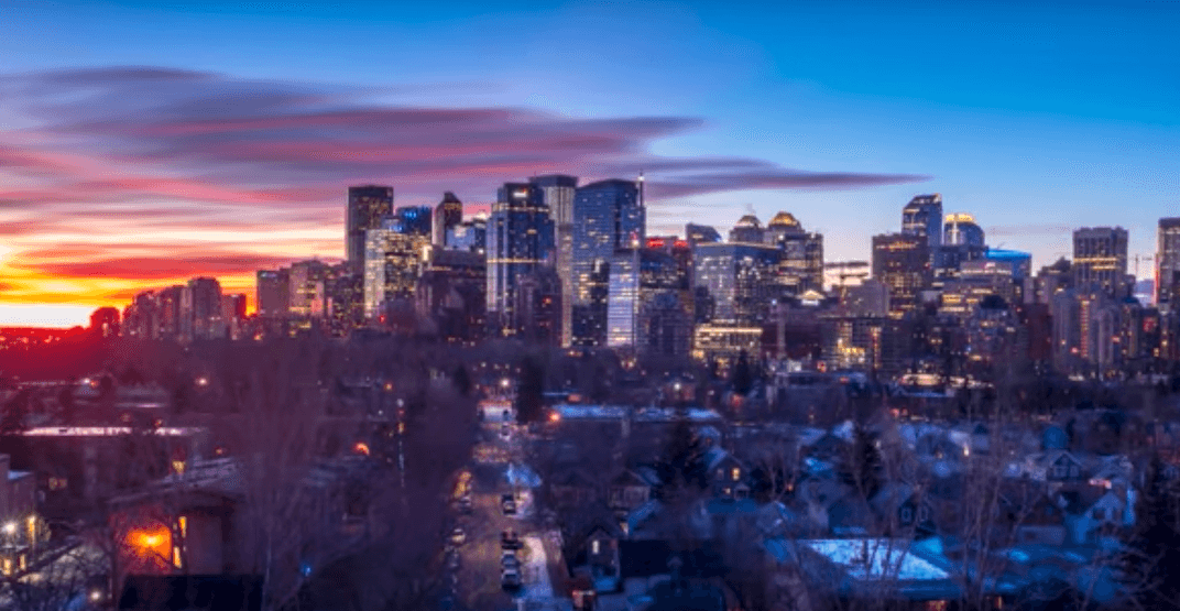This timelapse video perfectly captures Calgary's wintertime beauty (VIDEO)