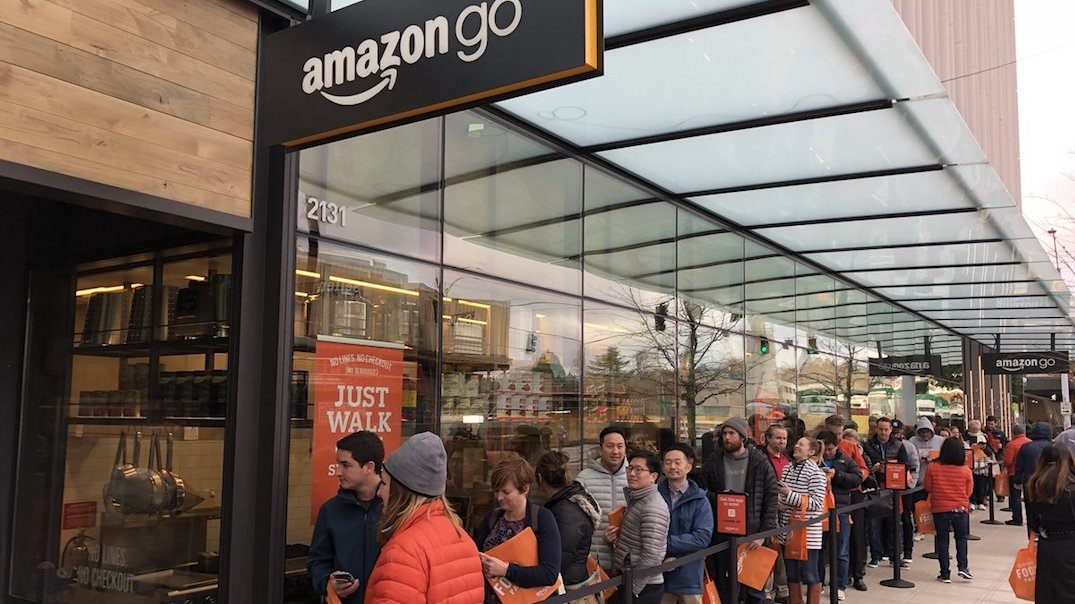 Amazon opens first no line, cashier-free grocery store (PHOTOS)