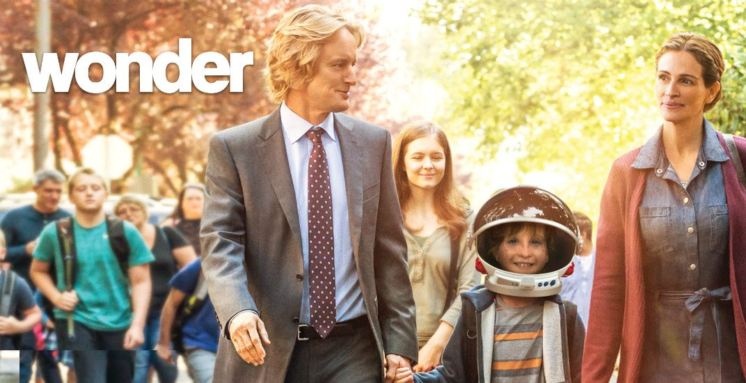 Now you can watch Wonder + help support international charity WE