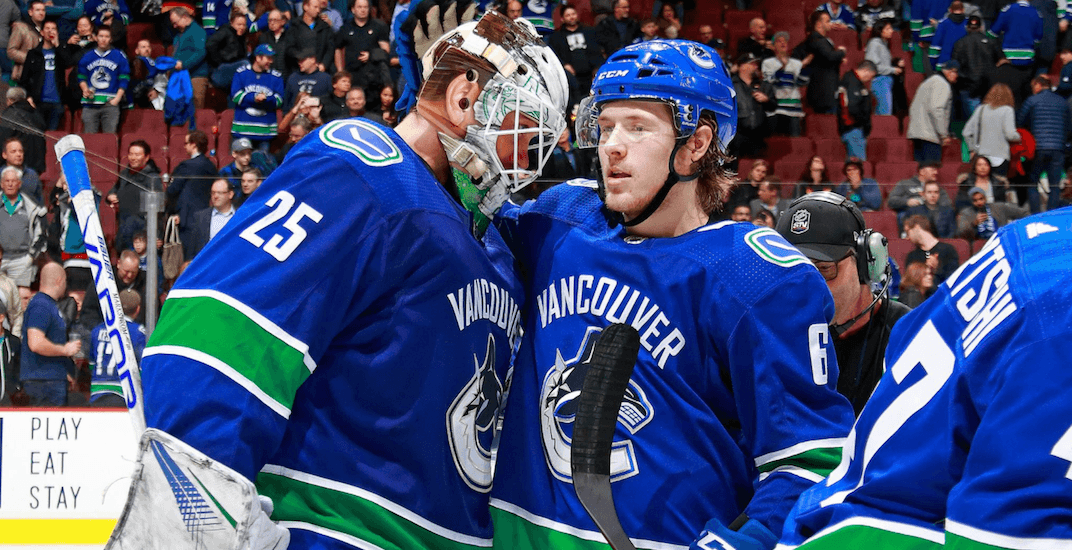 Jacob Markstrom is a big reason why Canucks are in a playoff race again